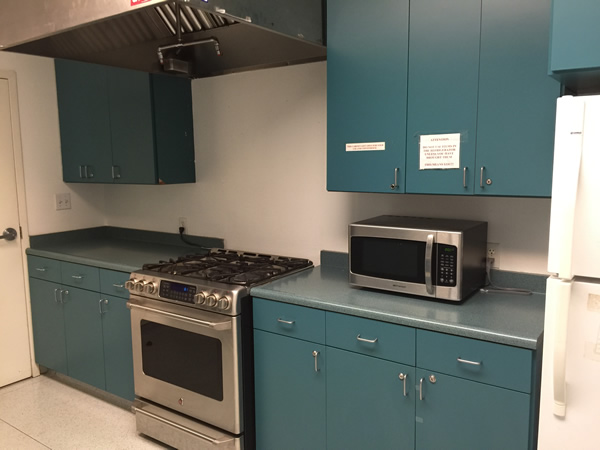 Professional kitchen at Pacheco Community Center